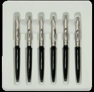 Шариковая ручка, черная
