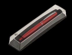 Шариковая ручка в футляре PB10, красная