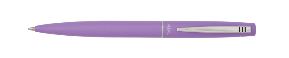 @Шариковая ручка в футляре PB10, фиолетовая