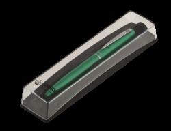 Шариковая ручка в футляре PB10, зеленая