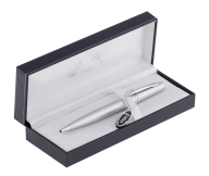 Шариковая ручка в подарочном футляре  L, хром