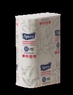 /Полотенца бумажные целлюлозные  V-образные 21х22 см, 160 листов, 2-х сл., белый PAPERO