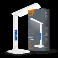 /Лампа настольная LED c индикацией, VL-TF05W, 7W, 3000-5500K, 220V, VIDEX