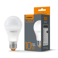 /Лампа LED, 10W, E27, 3000K, 220V, VIDEX