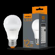 /Лампа LED, 12W, E27, 3000K, 220V, VIDEX