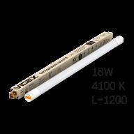 /Лампа LED, 18W, 1.2M, 4100K, 220V, VIDEX