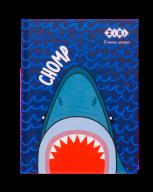 /Блокнот SEA, А5 (146х190мм), 64л., кл., тв. обл., мат. лам.+лак, KIDS Line, синий