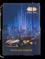 /Папка для тетрадей DRIVE, картонная, на резинке B5+ (175х240х25мм), KIDS Line