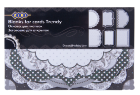 """@$Заготовка для открыток """"Trendy"""" 10.2*15.3см"""