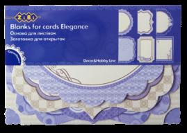 """@$Заготовка для открыток """"Elegance"""" 10.2*15.3см"""