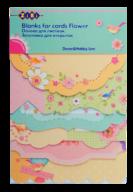 """@$Заготовка для открыток """"Flower"""" 10.2*15.3см"""