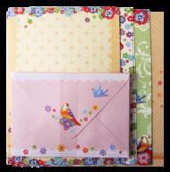 """@$Заготовка для открыток с цветными конвертами """"Flight"""" 10.5*14.8см, KIDS Line"""