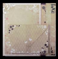 """@$Заготовка для открыток с цветными конвертами """"Vintage"""" 10.5*14.8см, KIDS Line"""