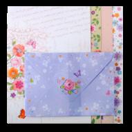 """@$Заготовка для открыток с цветными конвертами """"Charm"""" 10.5*14.8см, KIDS Line"""
