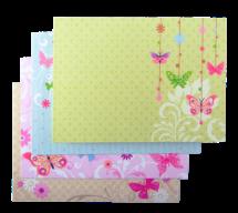 """@$Заготовка для открыток """"Flutter"""" 10.5*14.8см"""