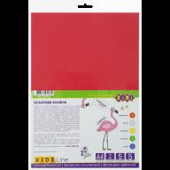 ^Фоамиран цветной, А4, 5 листов - 5 цветов, 2 мм, KIDS Line