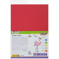 Фоамиран цветной самоклеящийся, А4, 5 листов - 5 цветов, 2мм, KIDS Line