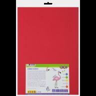 Фоамиран цветной самоклеящийся, А3, 5 листов - 5 цветов, 2мм, KIDS Line