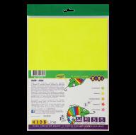 Бумага неоновая А4, 5 л. -5 л., 80 г/м2, KIDS Line