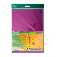 Бумага цветная глянцевая А4, 10 л.-10цв., 80 г/м2, KIDS Line
