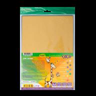 Бумага цветная бархатная А4, 10л.-10 цв., 140 г/м2, KIDS Line