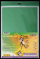 Бумага цветная самоклеющаяся СУПЕР ЦВЕТА,  А4, 11 л.-11 цв. (9ст.+2 неон), KIDS Line