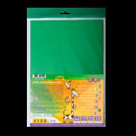 Картон цветной двухсторонний двухцветный, А4, 10л.-20 цв., 230 г/м2, KIDS Line