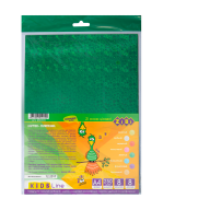 Картон голограмма А4, 8 л.-8 цв., 250 г/м2, KIDS Line