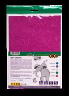 @Бумага цветная с блестками, А4, 5 л.-5 цв., 250 г/м2, KIDS Line