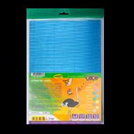 Гофрокартон цветной фольгированный А4, 10 л.-10 цв., 260 г/м2, KIDS Line