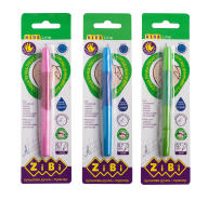 Ручка шариковая для левши с резиновым грипом, синий, блистер (1шт.), KIDS Line