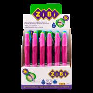 ^Ручка шариковая для левши с резиновым грипом, синий, дисплей, KIDS Line