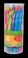 ^Ручка шариковая автоматическая 0.7мм, синяя, KIDS Line