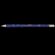 Карандаш графитовый COSMOS HB, с ластиком , туба 20шт, KIDS Line