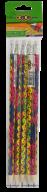 @Карандаш графитовый LEGS HB, с ластиком, блистер (5 шт), KIDS Line