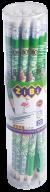 @$Карандаш графитовый TROPIKANA HB, с ластиком , туба 20 шт, KIDS LINE