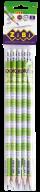 Карандаш графитовый TABLE HB, с ластиком , блистер (5шт.), KIDS Line