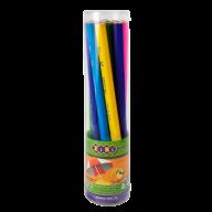 Карандаш графитовый трехгранный JUMBO HB, без ластика , туба (10 шт.), BABY Line