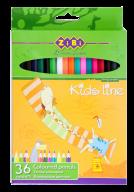 @$Кольорові олівці, 36 кольорів, STANDARD