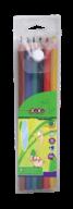 @$Карандаши цветные, 6 цветов, PROTECT, ПВХ пенал