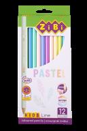 Карандаши цветные пастельные PASTEL, 12 шт., KIDS Line
