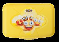 /Контейнер для еды, 155*113*40мм, желтый, KIDS Line