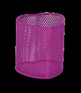 """Подставка для ручек """"сердце"""" d92х100мм, металлическая, розовый, KIDS Line"""