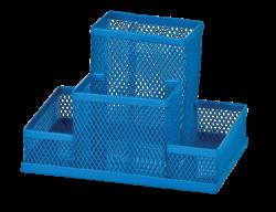 Прибор настольный 153x102x100мм, металлический, синий, KIDS Line