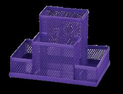 Прибор настольный 153x102x100мм, металлический, фиолетовый, KIDS Line