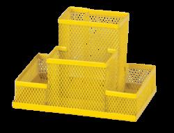 Прибор настольный 153x102x100мм, металлический, желтый, KIDS Line