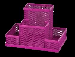 Прибор настольный 153x102x100мм, металлический, розовый, KIDS Line