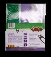 /Обложка для тетрадей, 250*420 мм с клапаном, PVC, 5шт/упак., KIDS Line