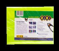 @/Обложка для учебников NEON 250*420мм с клапаном, PVC, желтый, 5шт/упак, KIDS Line