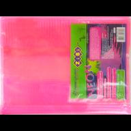 @/Обложка для учебников NEON 250*420мм с клапаном, PVC, розовый, 5шт/упак., KIDS Line